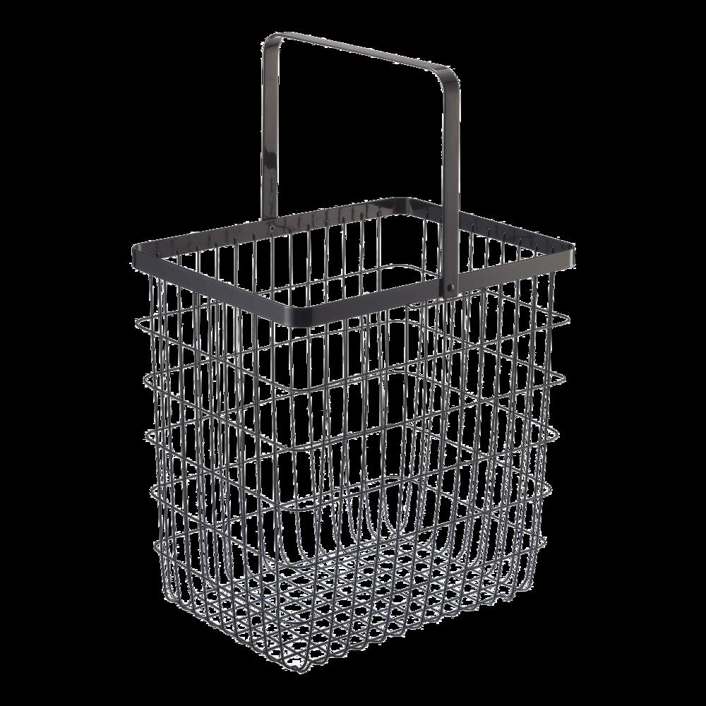 Laundry Basket Black In 2020 Large Laundry Basket Wire Laundry