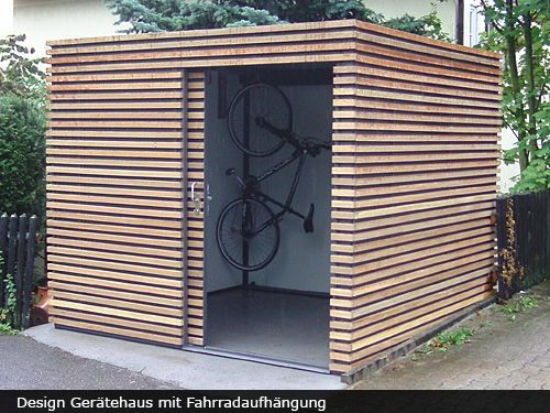 Gartenhaus exclusive mit schiebet r home inspiration for Gartenhaus modern bauen