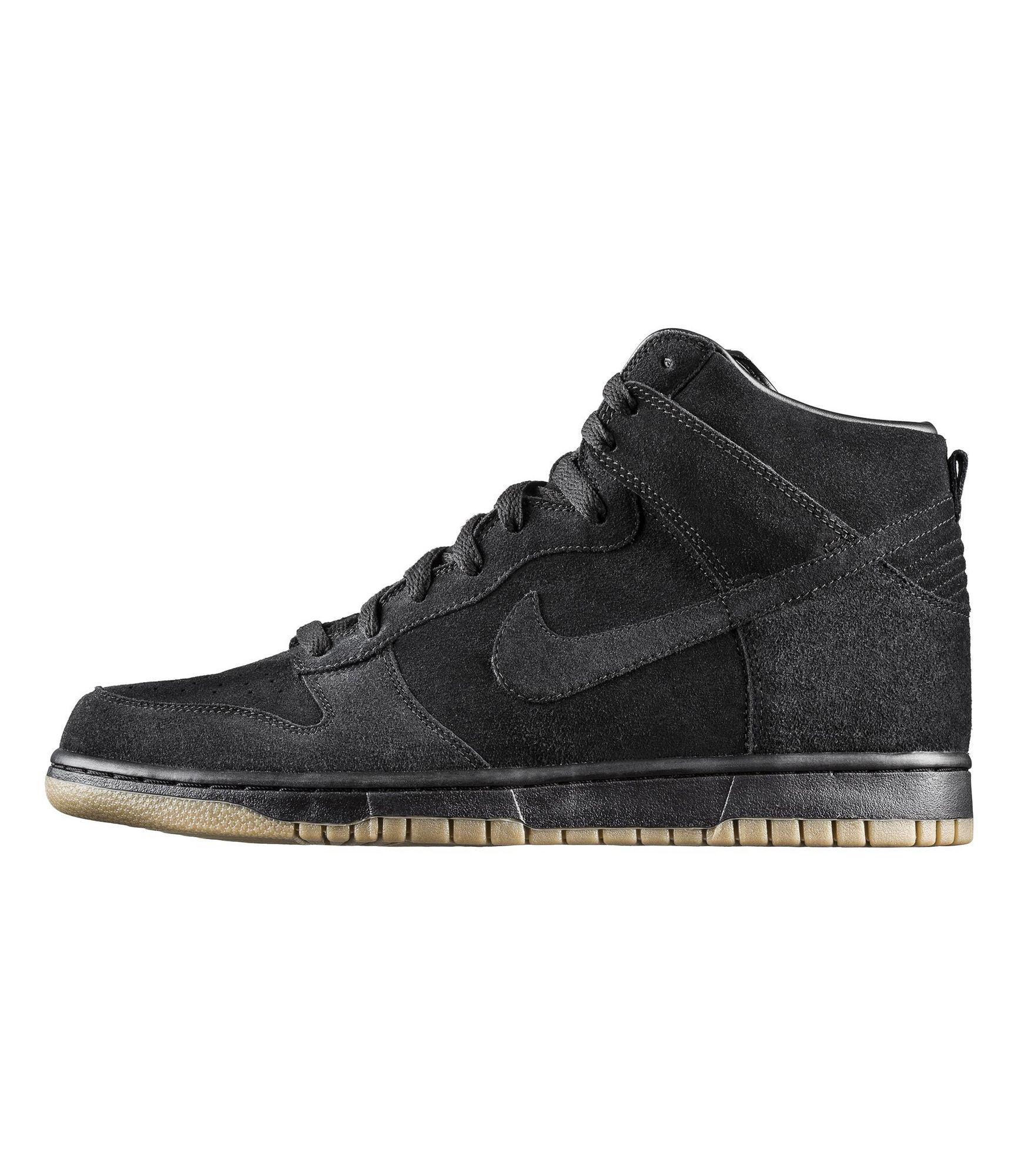 Nike x A.P.C Dunk High black suede