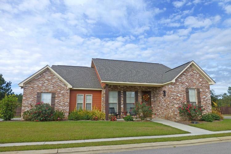 Photo of House Plan 041-00110 – Craftsman Plan: 1,600 Square Feet, 3 Bedrooms, 2 Bathrooms