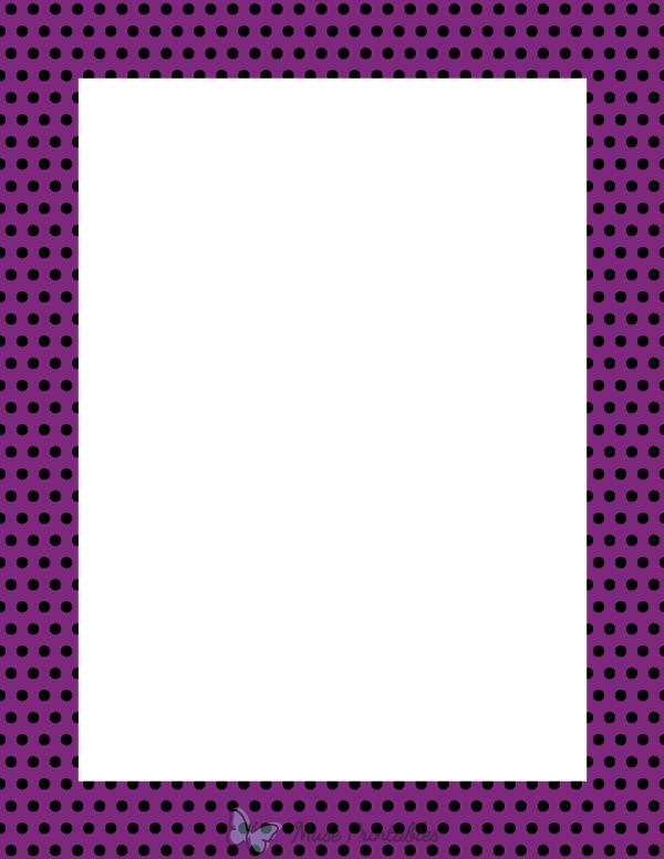 Graduation X 8 5 Border 11 Purple