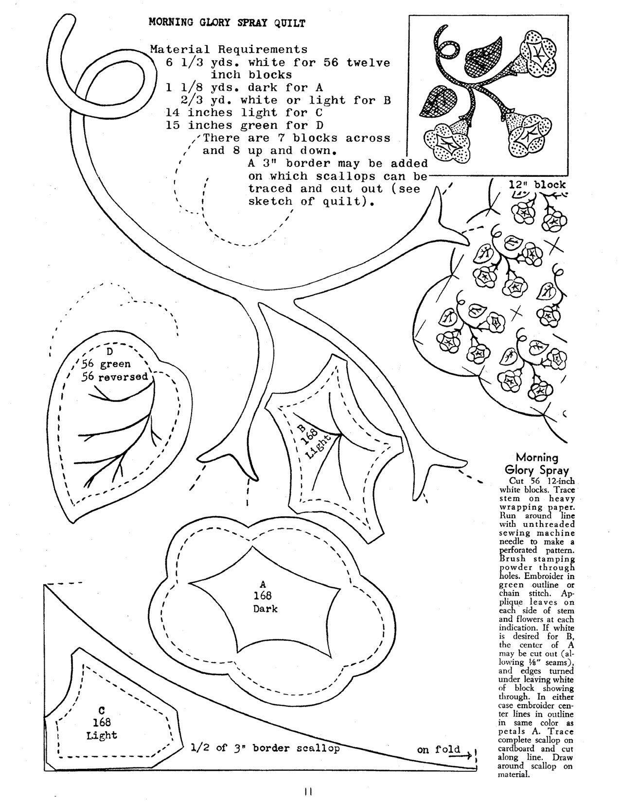 ruby short mckim patterns flower garden quilt designs old