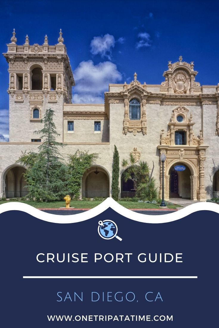 Everything you need to know when cruising from the port of San Diego, CA. This cruise port guide includes terminal location, passenger and luggage drop off instructions, currency and other money matters, how to get around the city, weather forecasts, and events, dining, and shopping options near San Diego's cruise terminal.  #cruise #cruises #cruisetravel #cruising #cruiseportguide #SanDiego #California #USA via @onetripatatime
