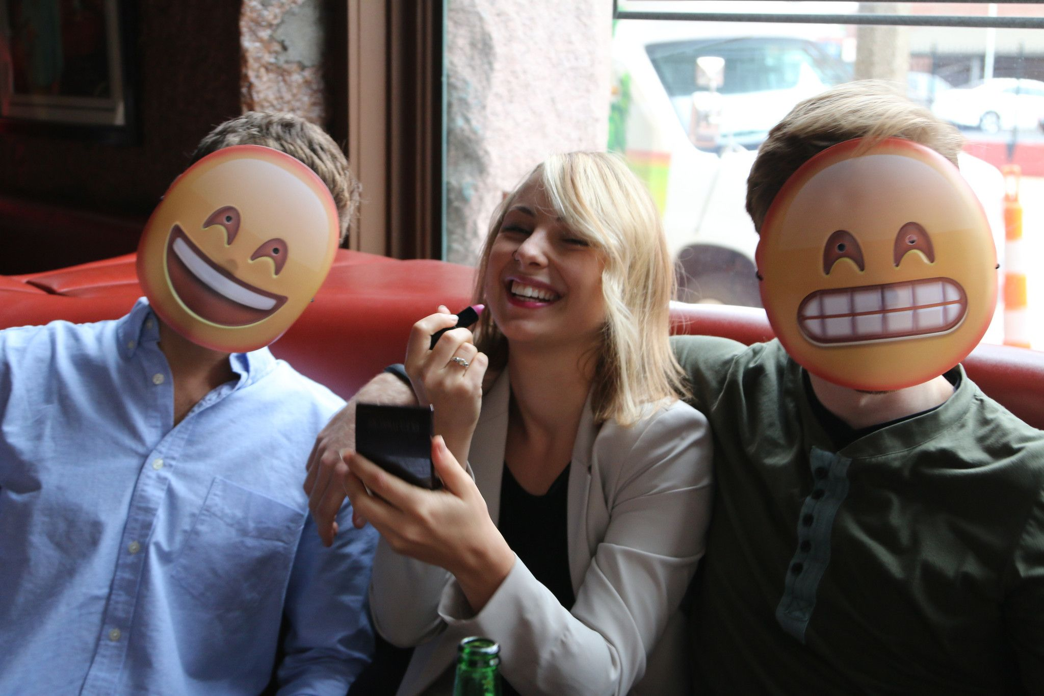 these emoji masks are the best halloween costumes 5 can buy - Cheap Creepy Halloween Costumes