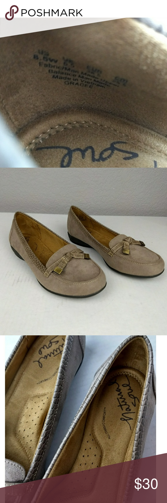 dddb0ee87e8 Natural Soul Gracee Loafers Size 8.5