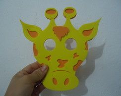 Máscara de Girafa-sapeca