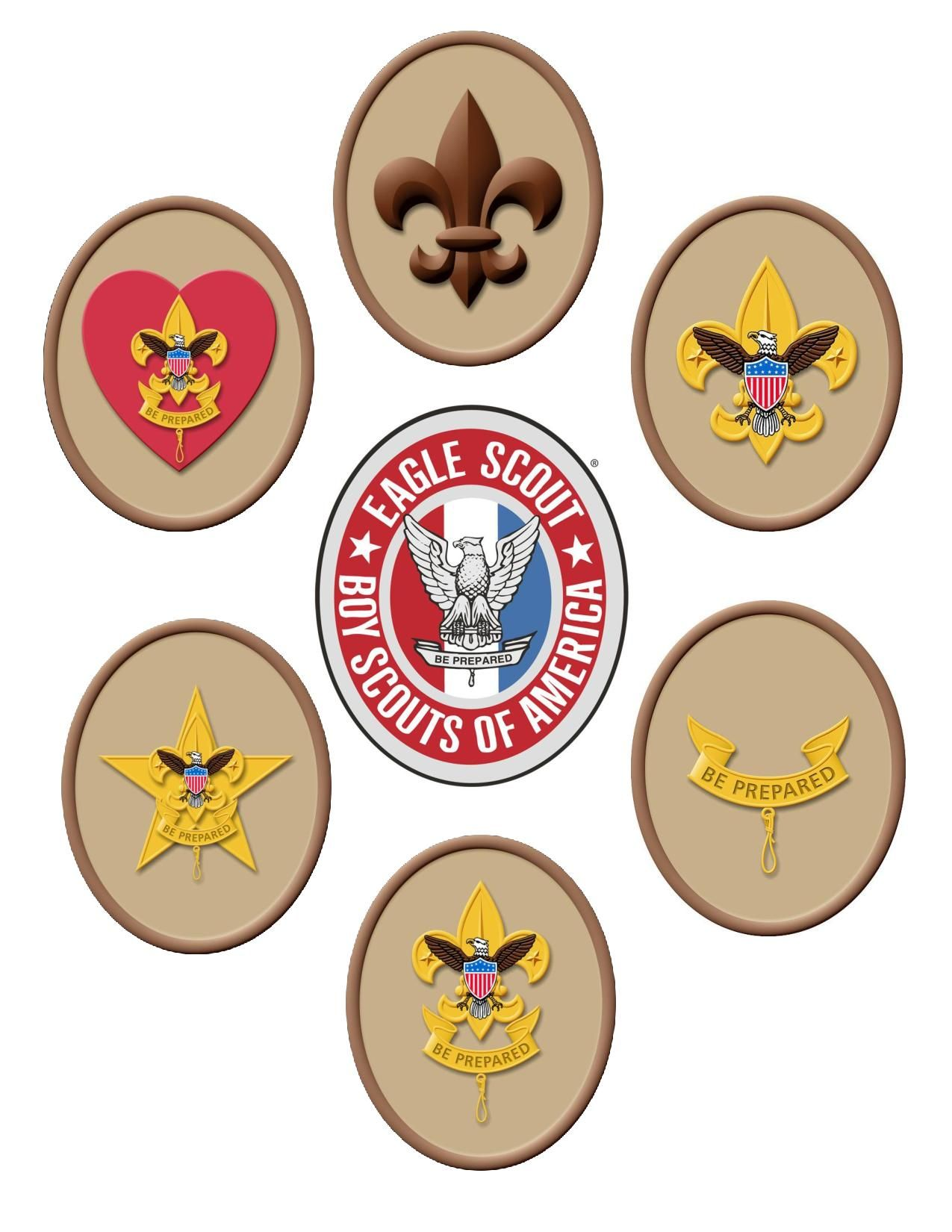 Path To Eagle Scout Scout Tenderfoot Second Class