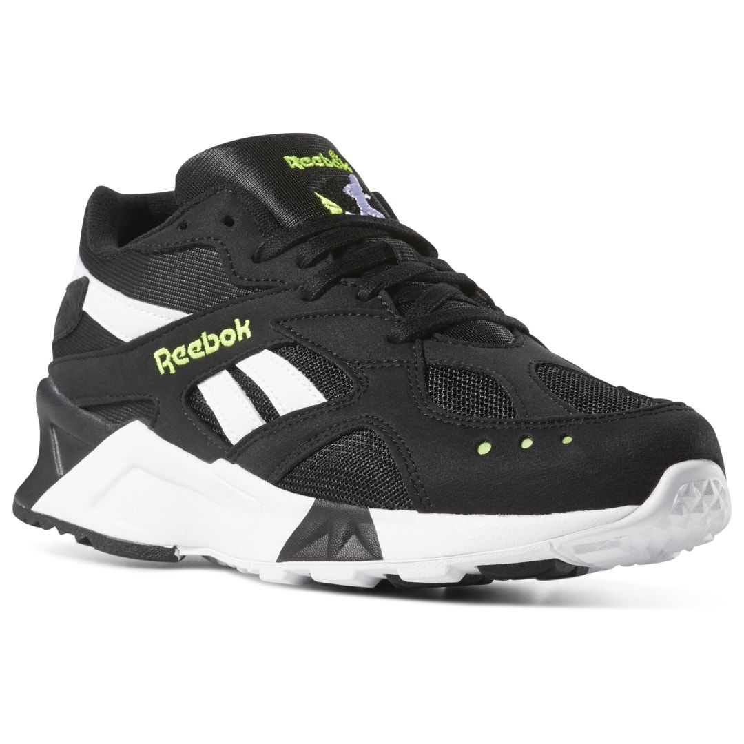Reebok Unisex Aztrek In Bw Black White Size M 8 5 W 10 Retro Running Lifestyle Shoes Hype Shoes Running Shoes For Men Reebok Shoes