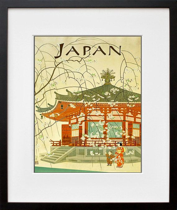 Japanese Wall Art Japan Print Travel Poster Home Decor (ZT671 ...
