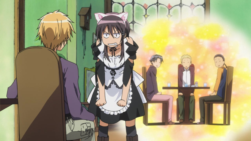 Anime Screencap and Image For Maid Sama in