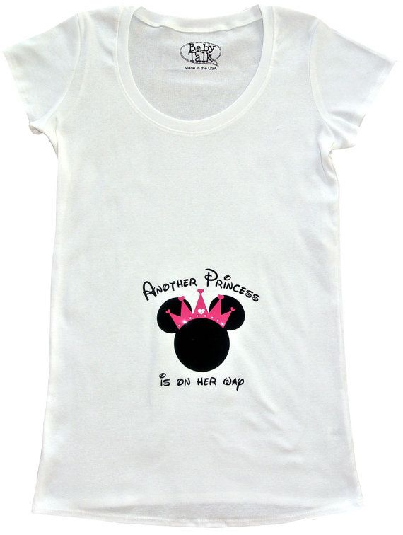 17d1424a2fec9 Minnie Princess future Mouseketeer custom personalized maternity shirt  perfect for disney trips or parties