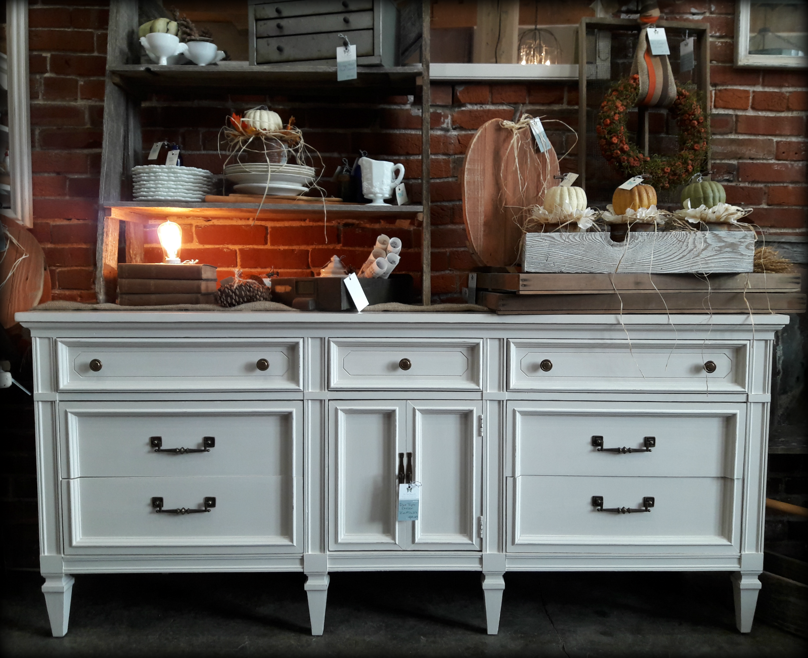 Triple Dresser painted with Amy Howard One Step paint in a