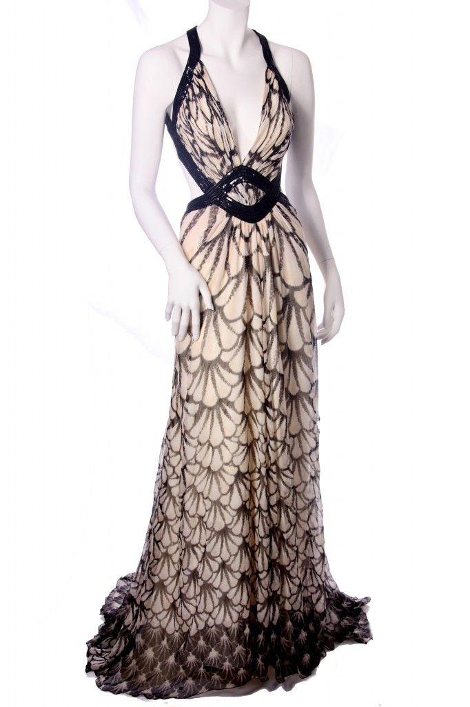 Roberto Cavalli Formal Evening Gown | Looking FIERCE! Red Carpet ...