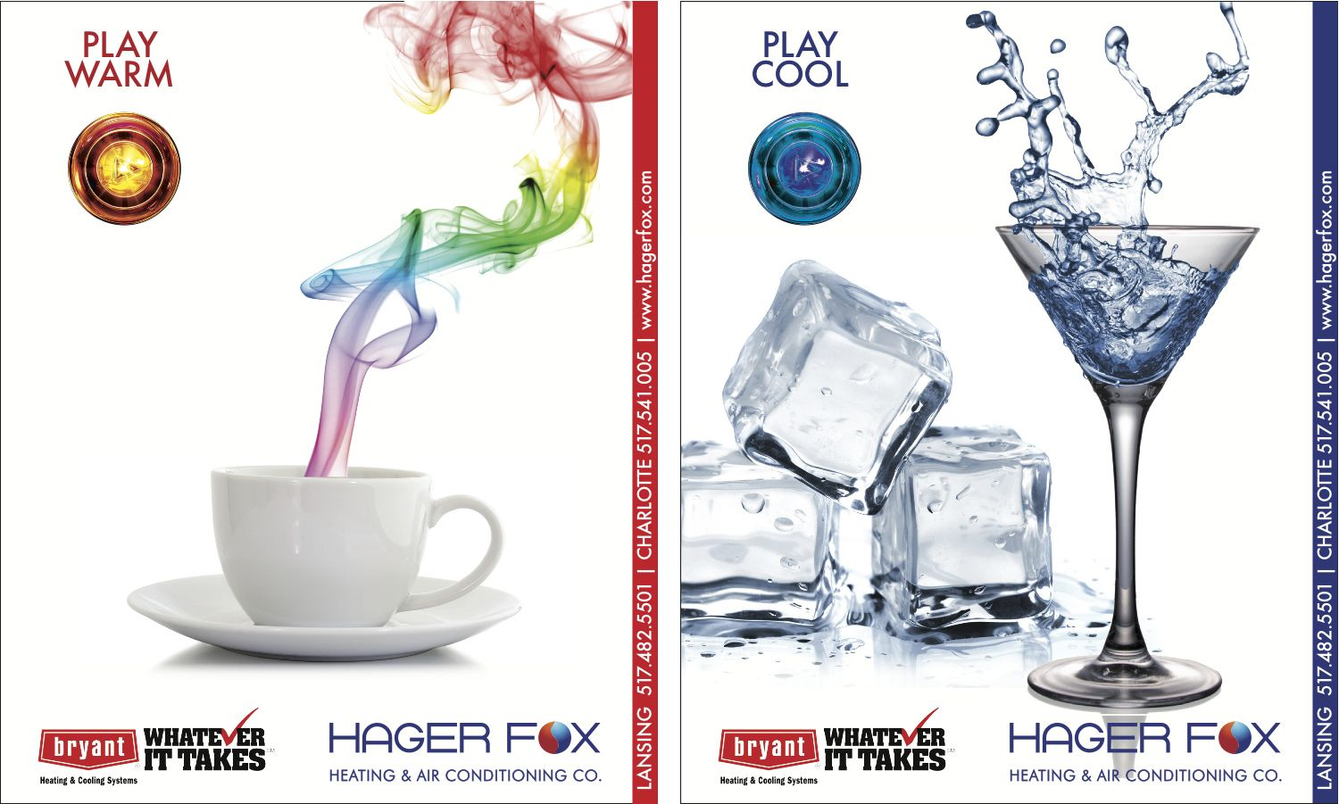 Hager Fox A two part campaign for a local heating