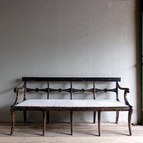 antique foyer furniture. Swedish Antique Bench Foyer Furniture E