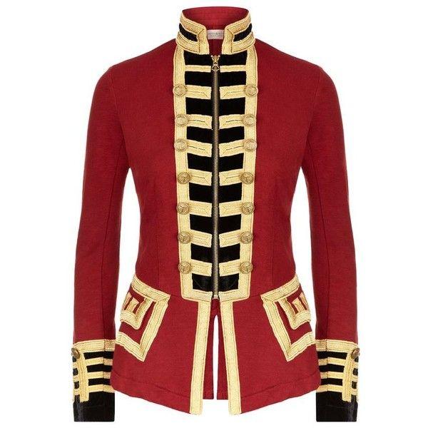 Denim & Supply Ralph Lauren Jersey Military Jacket (€240