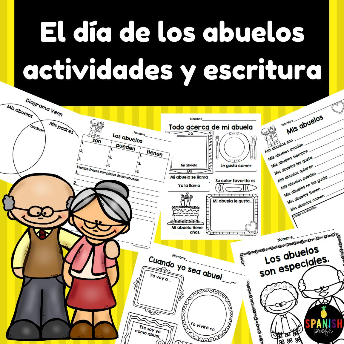 El Dia De Los Abuelos Grandparents Day Spanish