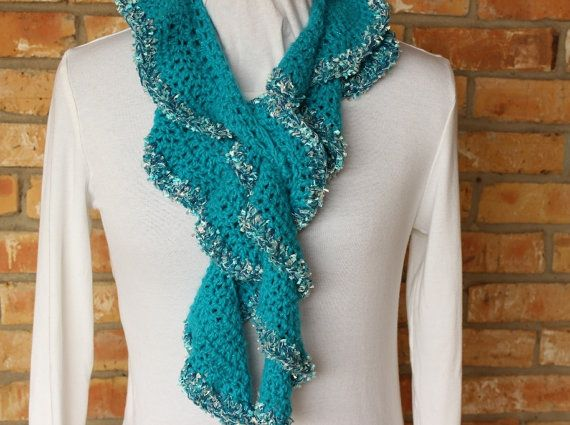 Easy to crochet spiral scarf pattern - quick and easy gift to ...