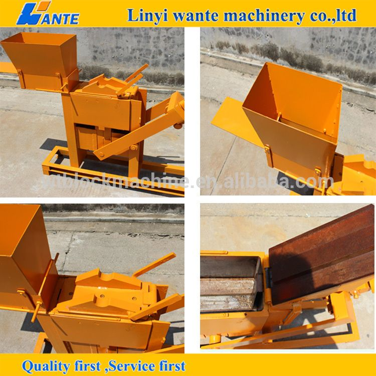 manual interlocking brick making machine for sale