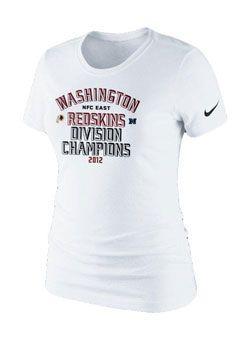 washington redskins division champion shirts