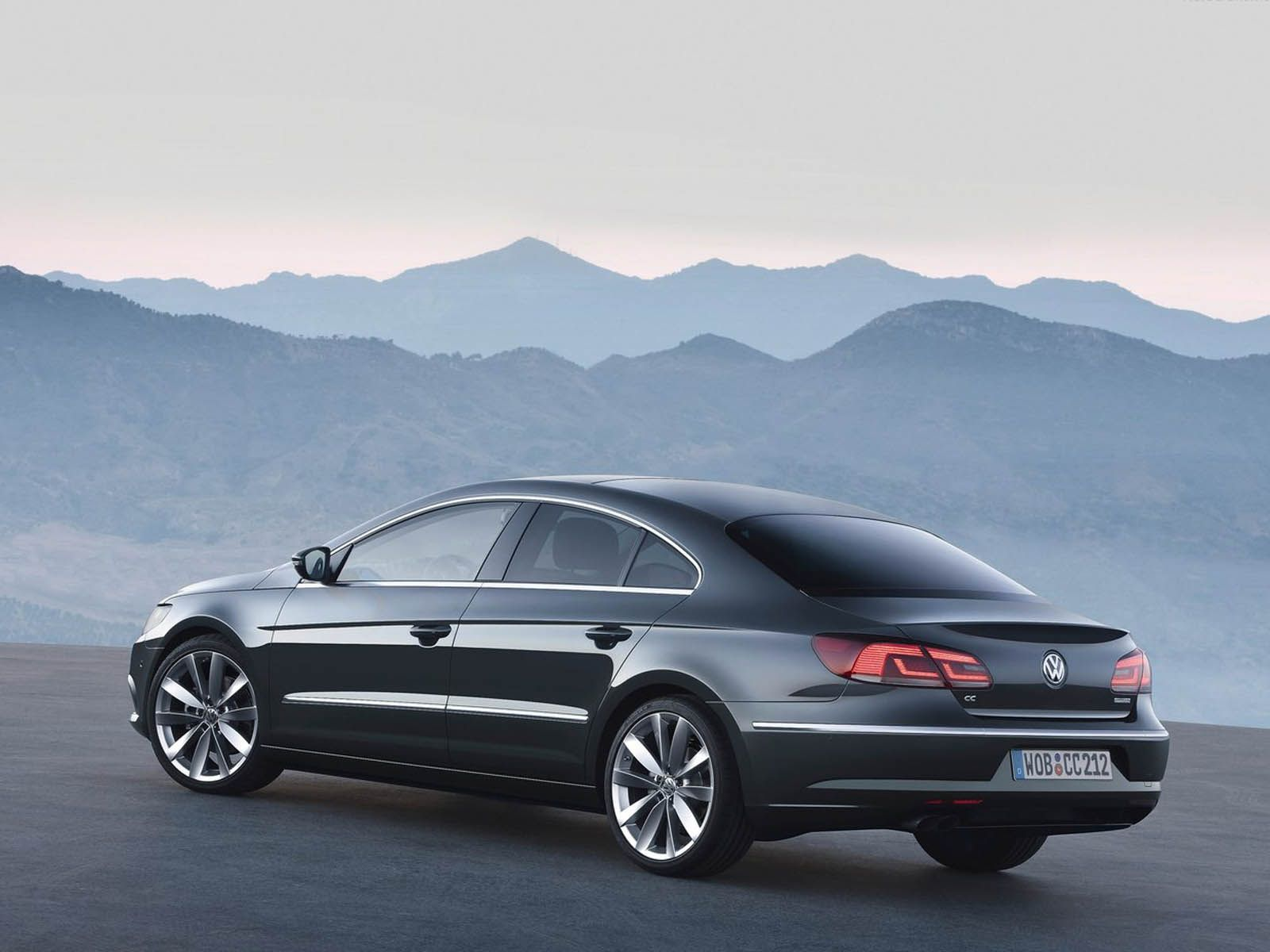 Image for Volkswagen Passat CC 2013 Rear Wallpaper