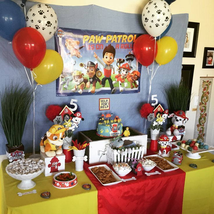 Image result for paw patrol paw table runner | Paw Patrol ...