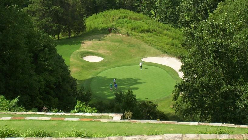 Hole No  12 on Gatlinburg Golf Course View at www tennesseegolftrip     12 on Gatlinburg Golf Course View at www tennesseegolftrip com