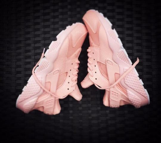 0d559b49e2012 Image of Baby Pink Nike Huarache Pink Sole | job | Hurraches nike ...