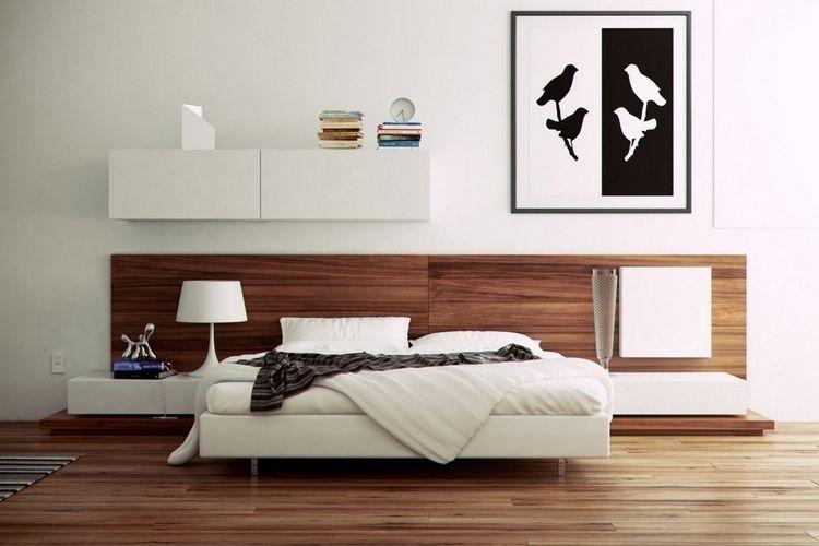 92 idées chambre à coucher moderne avec une touche design Idée
