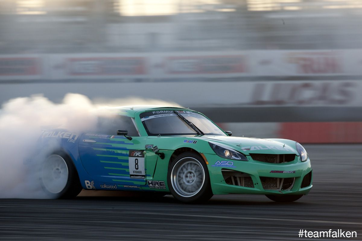 Darren McNamara And The Team Falken Saturn Sky 2011 Formula Drift Irwindale  | Falken Drift Team | Pinterest | Saturn Sky, Formula Drift And Drifting  Cars