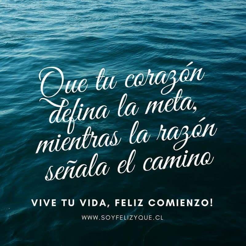 """La vida es un permanente """"desafío"""" que merece ser vivida! Feliz comienzo 😍 para todos ♥️!!! Www.soyfelizyque.cl #soyfelizyque #unainvitacionaserfeliz #yosoysfyq #sfyq"""