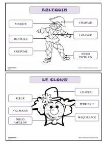 Librairie-Interactive - Vocabulaire de carnaval | Carnaval ...