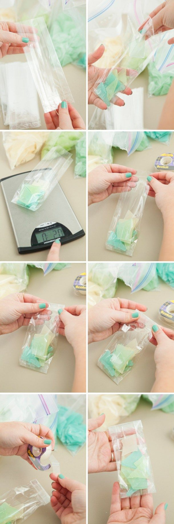Learn How To Make Your Own Sea Glass Hard Candy! | Candy favors ...