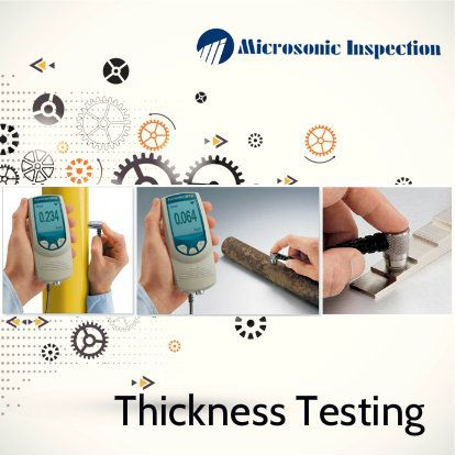 We offer on-site thickness gauging services for assessing