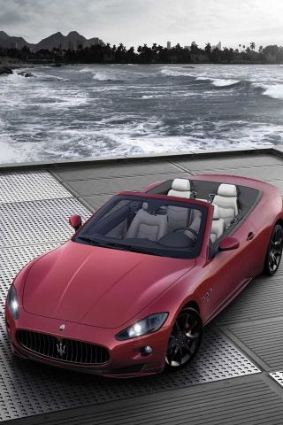 ♂ Red Car By The Water | Dream Drive! | Pinterest | Maserati, Cars And  Luxury Cars