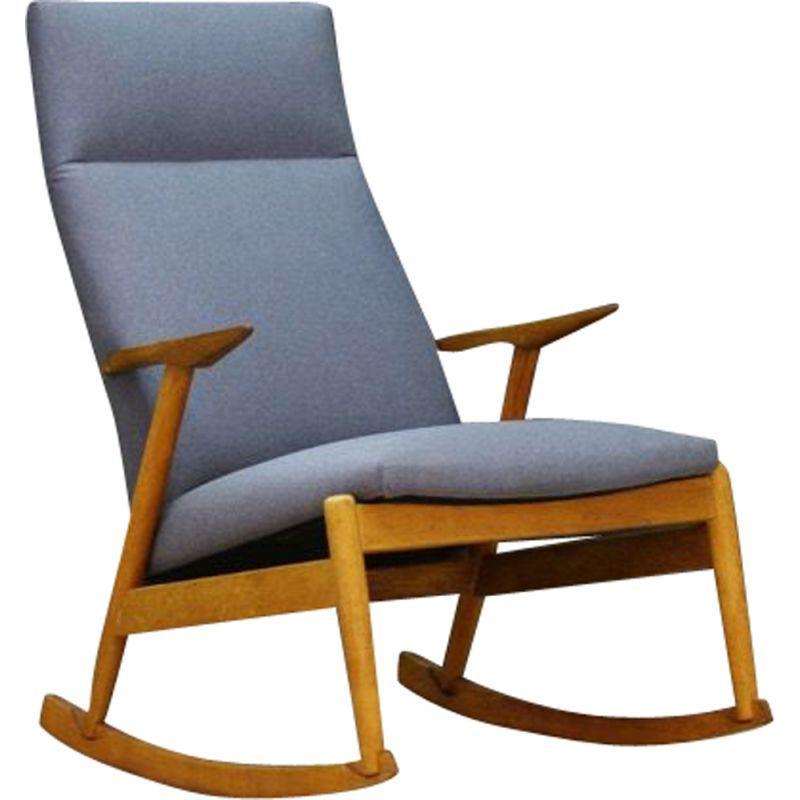 Vintage Scandinavian Rocking Chair In Ashwood 1970 Scandinavian Rocking Chairs Rocking Chair Chair