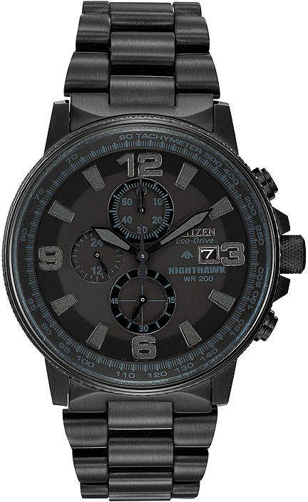 4d28b0f7f04e Citizen Eco-Drive Mens Black Watch CA0295-58E