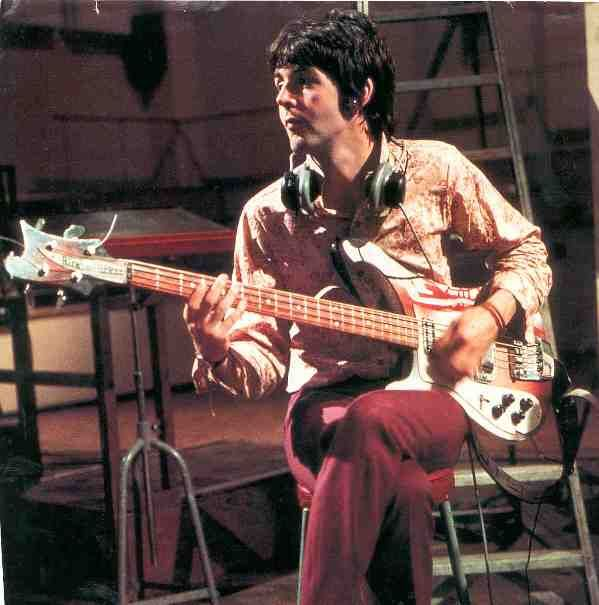 Paul McCartney and Rickenbacker C64.