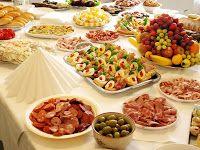 Trío: Comidas para fiestas navideñas