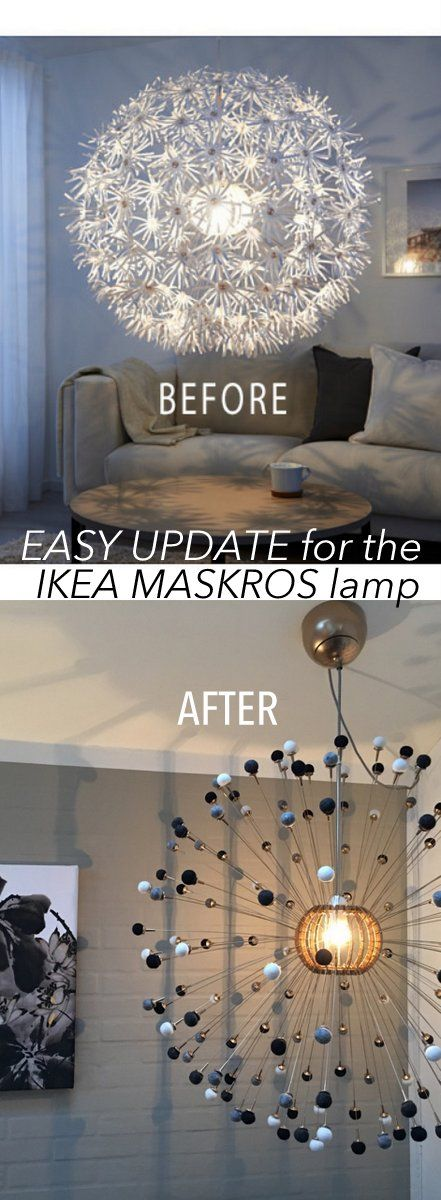 alternative style for the maskros lamp do it yourself. Black Bedroom Furniture Sets. Home Design Ideas