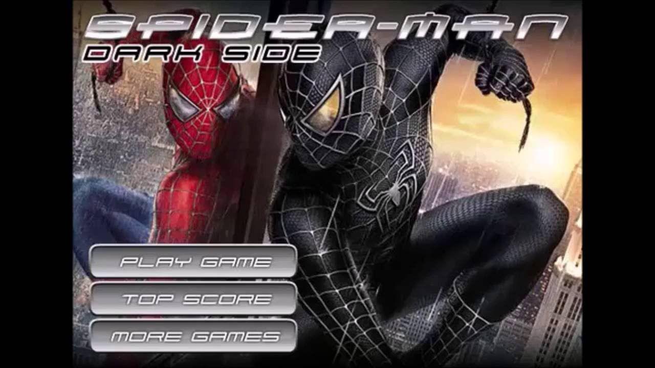 Spider Man Dark Side Action Games Spiderman Games Online Games For Kids Fun Online Games Online Games