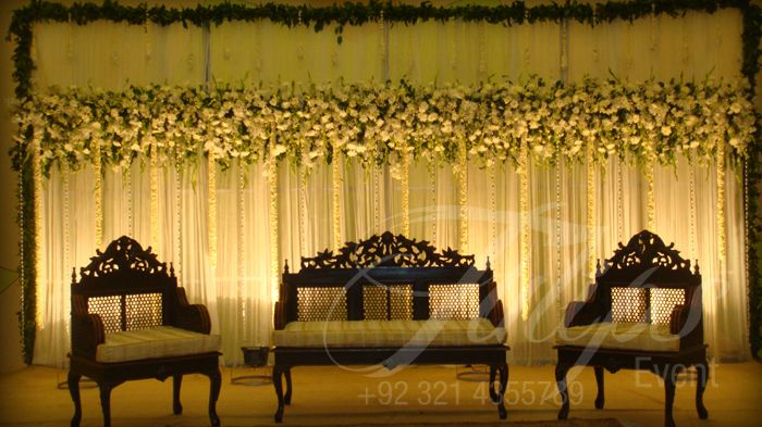 Golden stage design wedding ideas pinterest stage design golden stage design for walima junglespirit Image collections