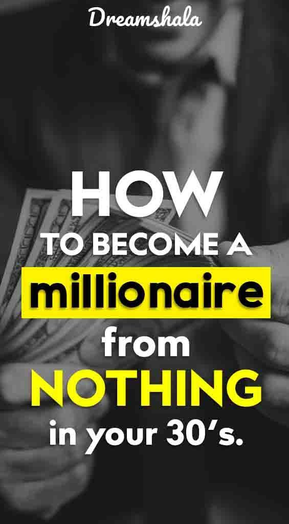 How To Become A Millionaire? 18 Financial Tips Fro