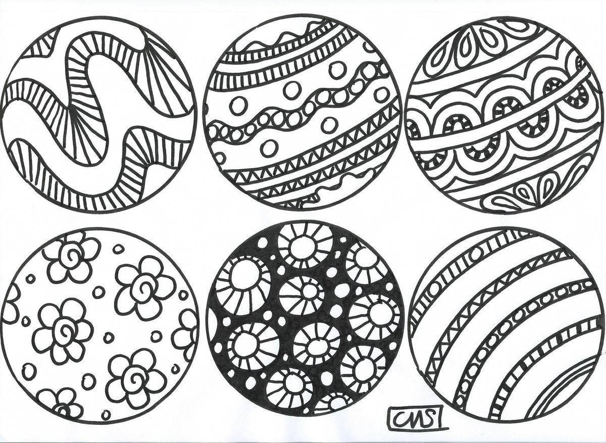 superbes coloriages de boules et sapins de noel School & Teaching Pinterest