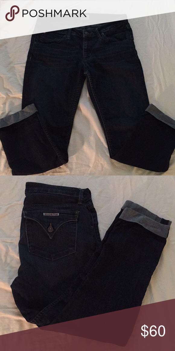 e02e8e91be0 Hudson jean crop EUC bakera straight flood cuff Hudson Jeans Jeans Ankle &  Cropped