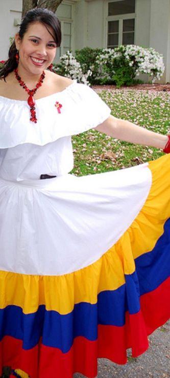 Traje tipico de Venezuela | Traditional outfits, National ...