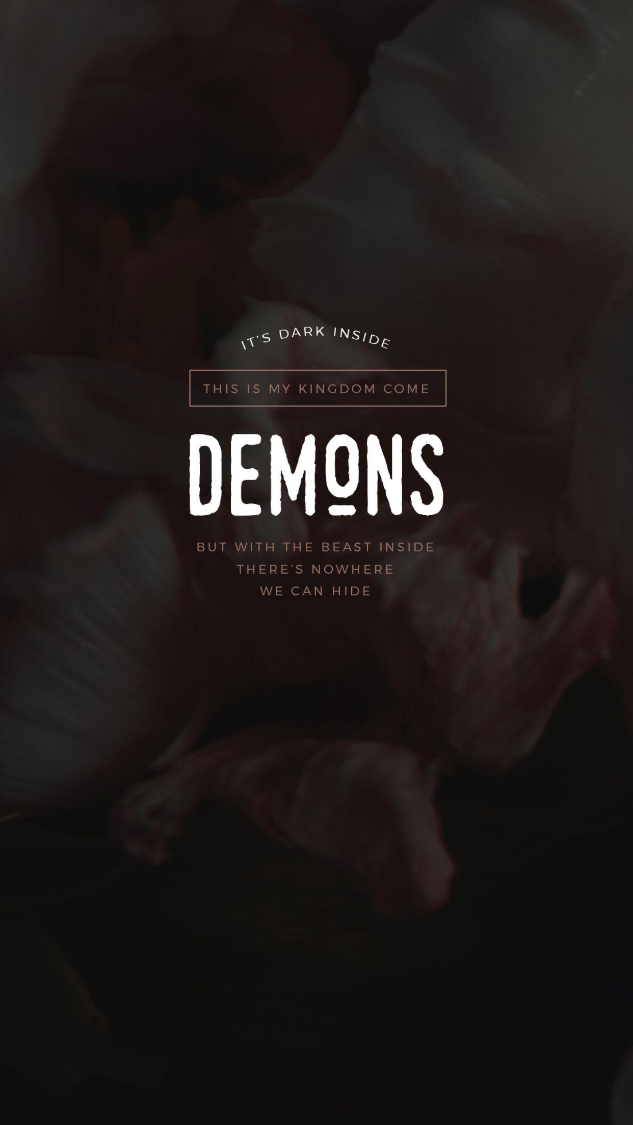 Fall Out Boy Patrick Stump Wallpaper Demons Lyrics Imagine Dragons Imagine Dragons Lyrics