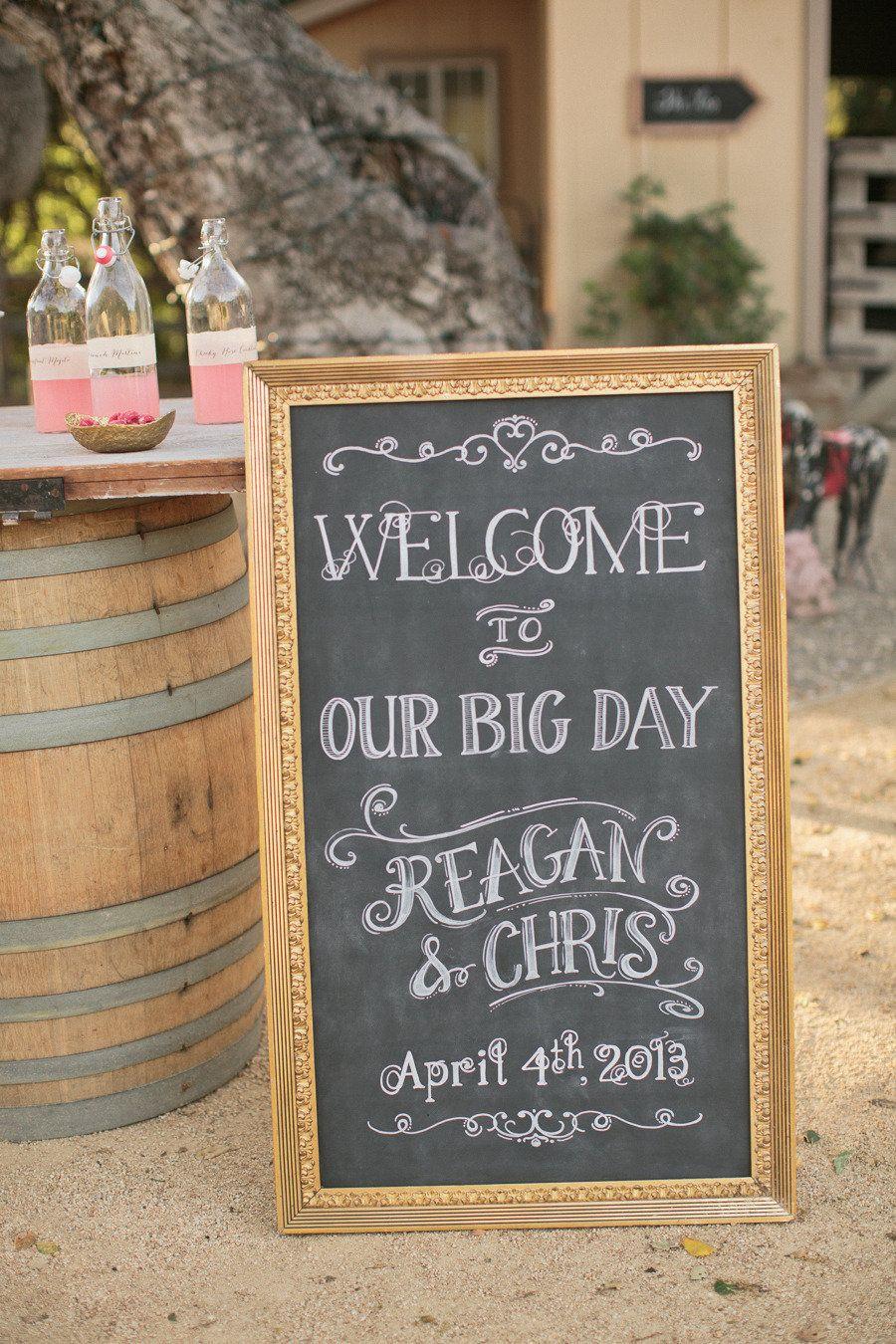 27++ Wedding chalkboard signs welcome ideas