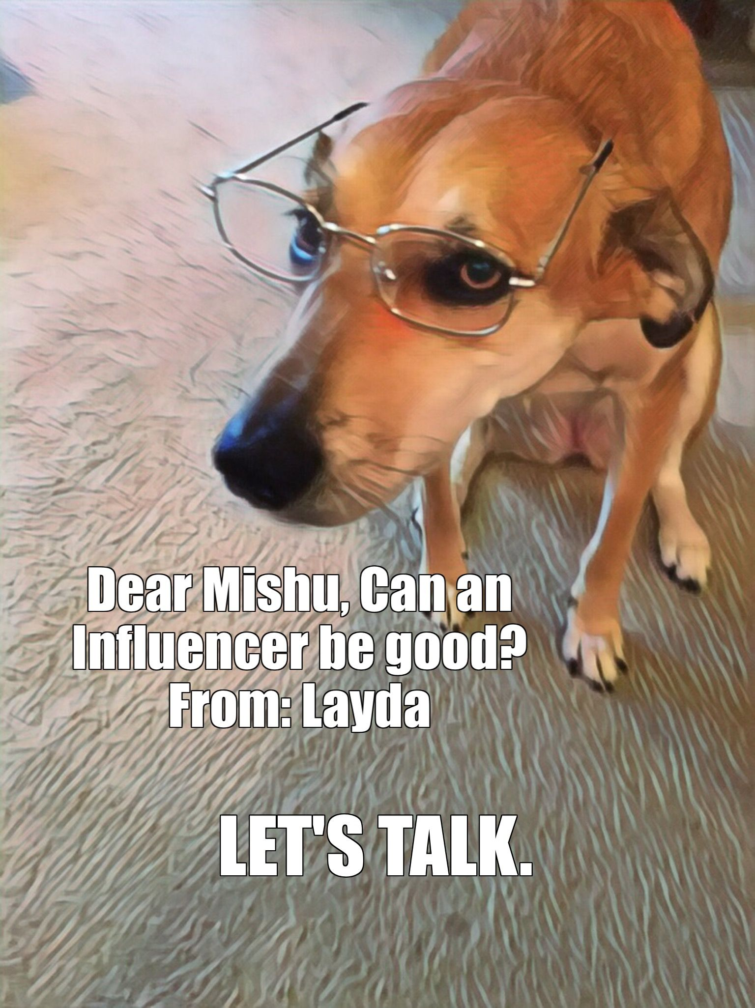 Can an Influencer be good, Layda asks, Mishu answers