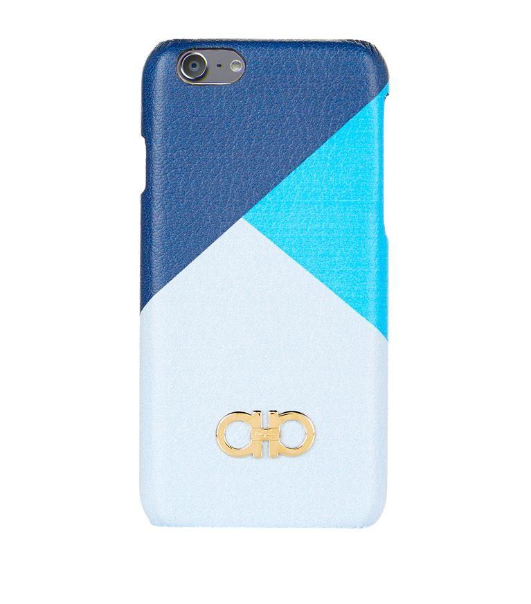 Salvatore Ferragamo iPhone Cases On Sale, Iphone 6 Plus Cover, Black, Leather, 2017, One size